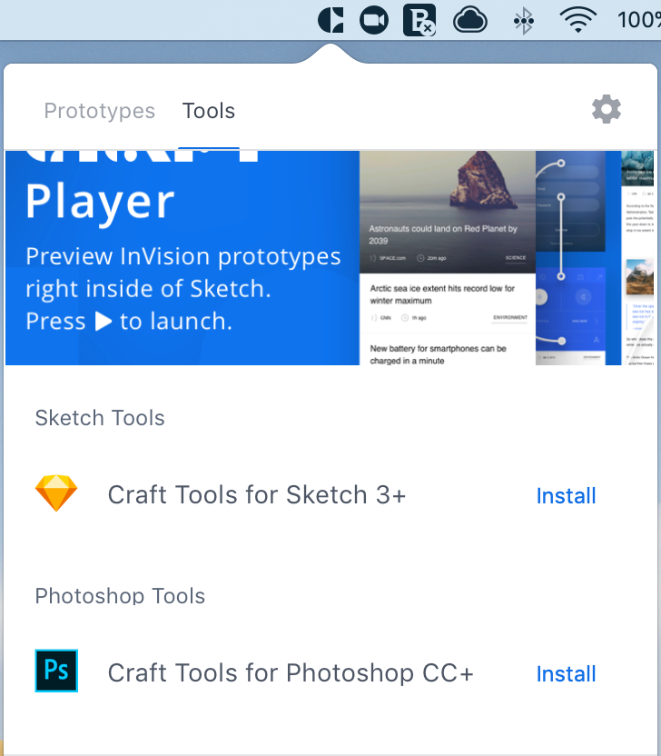 Craft Manager – InVision Support