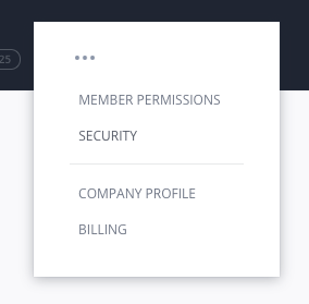 Acessing InVision V6 Enterprise security sections