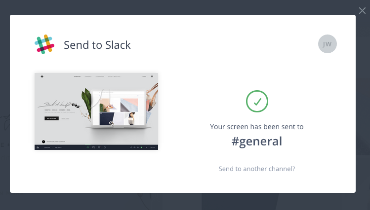 slack move message to another channel